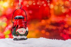 Merry Christmas and Happy New Year. Winter season Stock Images