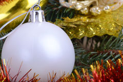 Merry Christmas and Happy New Year. New year decoration Royalty Free Stock Images