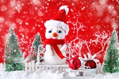 Merry Christmas and Happy New Year. A New Year`s background with New Year decorations,. Merry Christmas and Happy New Year. A New Year`s background with New Year Stock Images