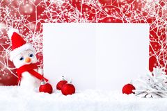 Merry Christmas and Happy New Year. A New Year`s background with New Year decorations, Background with copy space. Royalty Free Stock Photography