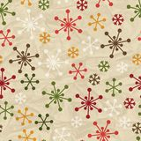 Merry Christmas and Happy New Year seamless. Pattern stock illustration