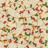 Merry Christmas and Happy New Year seamless. Pattern royalty free illustration
