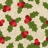 Merry Christmas and Happy New Year seamless. Pattern Stock Photography
