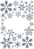 Merry Christmas and Happy New Year. Snowflakes. Vector illustration. Merry Christmas and Happy New Year. Snowflakes. Vector illustration vector illustration