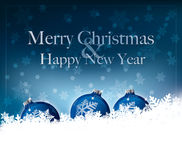 Merry Christmas & Happy New Year Royalty Free Stock Photography