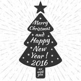 Merry Christmas and Happy New Year! Stock Photos