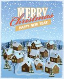 Merry christmas and happy new year Royalty Free Stock Photo