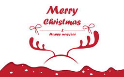 Merry christmas and happy new year. Stock Photo