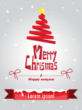 Merry christmas and happy new year. Royalty Free Stock Photo