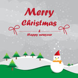 Merry christmas and happy new year. Stock Photography