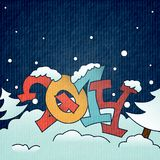 Merry Christmas And Happy New Year. Vector Illustration. Eps 10 Stock Photo