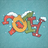 Merry Christmas And Happy New Year. Vector Illustration. Eps 10 Royalty Free Stock Photo