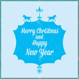 Merry Christmas and happy new year 2014 Stock Photography