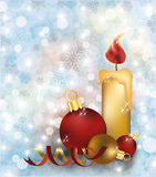 Merry Christmas and happy new year wallpaper. Vector illustration Stock Images