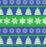 Merry Christmas and Happy New Year winter holiday backgrounds. Collection of seamless patterns with red and white colors. Vector i. Merry Christmas and Happy New Royalty Free Stock Photography