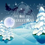 Merry christmas and a happy new year Royalty Free Stock Image
