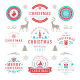 Merry Christmas And Happy New Year Wishes Royalty Free Stock Photo