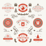 Merry Christmas And Happy New Year Wishes Royalty Free Stock Photography