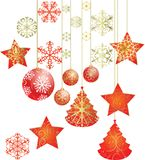 Merry christmas and happynew year Royalty Free Stock Photos