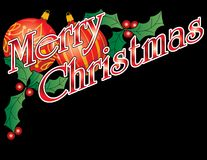 Merry Christmas Header Stock Photo