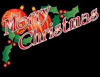 Merry Christmas Header stock photo