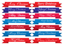 Merry Christmas Headlines Stock Images