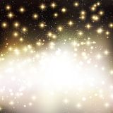 Merry Christmas Holiday background with shiny star Royalty Free Stock Photo