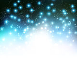 Merry Christmas Holiday background with shiny star Stock Photos