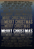 Merry Christmas holiday background Royalty Free Stock Image