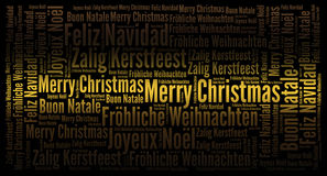 Merry Christmas holiday background Royalty Free Stock Images