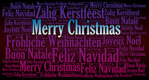 Merry Christmas holiday background Royalty Free Stock Photography