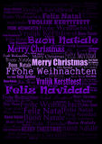 Merry Christmas holiday background Stock Image