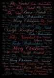Merry Christmas holiday background Stock Photography