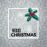 Merry Christmas . Holiday background. Xmas greeting card. Poster. Royalty Free Stock Images