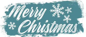 Merry Christmas Holiday Banner Stock Photography