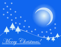 Merry christmas holiday card Stock Photo