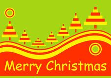 Merry christmas holiday card Royalty Free Stock Photo