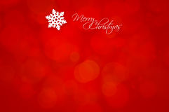 Merry Christmas - holiday flat background Stock Photos
