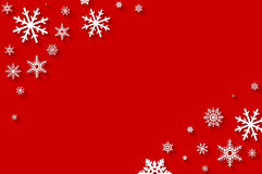 Merry Christmas - holiday flat background Royalty Free Stock Photos