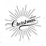 Merry Christmas. Holiday Vector Illustration. Stock Photos
