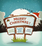 Merry Christmas Holidays Background Stock Image
