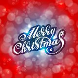 Merry Christmas. Holidays card design Royalty Free Stock Photo