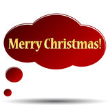 Merry Christmas icon Royalty Free Stock Photos