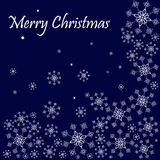 Merry christmas illustration background  Royalty Free Stock Images