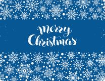 Merry christmas illustration Stock Image