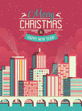 Merry Christmas Illustration Royalty Free Stock Photography