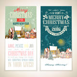 Merry Christmas illustration. Royalty Free Stock Photo