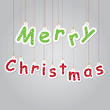 Merry Christmas illustration Stock Photography