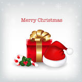 Merry Christmas Illustration. Vector Royalty Free Stock Photos