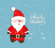 Merry Christmas illustrations Royalty Free Stock Photography